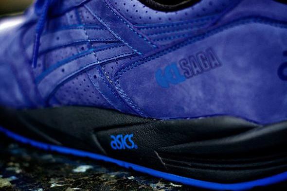 RONNIE FIEG X ASICS GEL SAGA (MAZARINE BLUE). Изображение № 2.