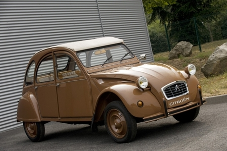 Citroen 2CV by Hermes в честь 60-летнего юбилея. Изображение № 2.