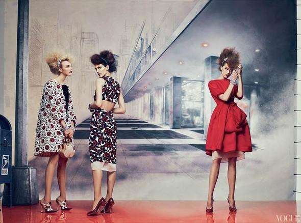 Vogue US March 2012. Изображение № 2.