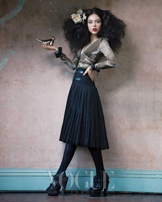 """Legend of fall"" Coco Rocha for Vogue Korea. Изображение № 5."