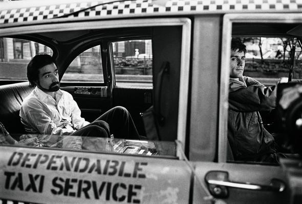 Таксист Мартина Скорсезе на фото со съемочной площадки. Изображение № 14.