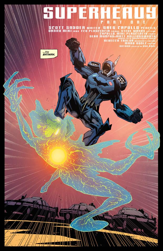 В комиксах новым Бэтменом стал комиссар Гордон. Изображение № 2.
