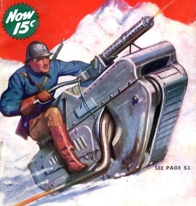 Гусеничные мотоциклы. Изображение № 5.