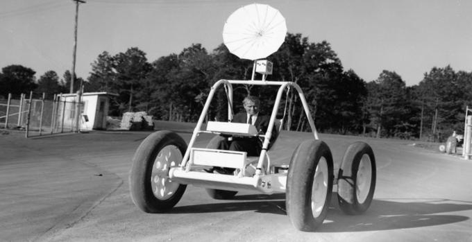 Прототип лунохода NASA нашли на свалке . Изображение № 2.