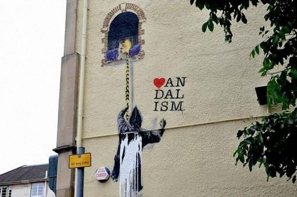 Изображение 18. Бристоль. Художественное граффити.. Изображение № 20.