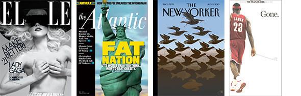 Лучшие обложки журналов в 2010 году. Изображение № 10.