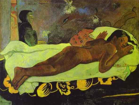 Обнажённая модель Поля Гогена. Изображение № 4.