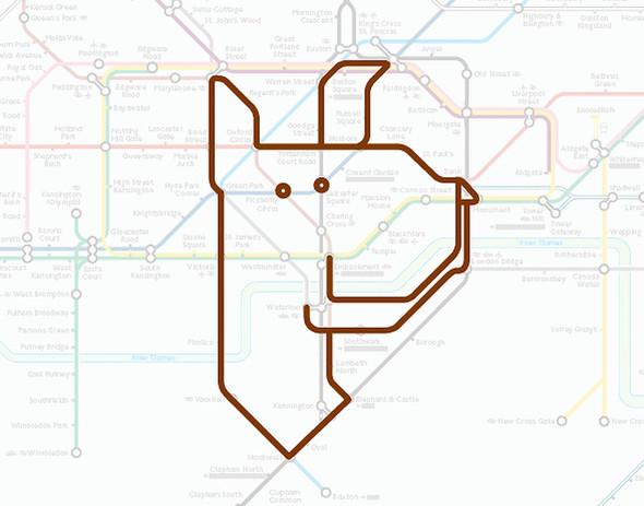 Осторожно! Звери в лондонском метро!. Изображение № 1.