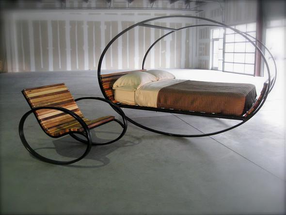 Кровать-качалка. Изображение № 1.