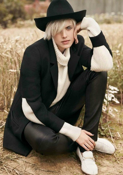 Agyness Deyn by Ben Weller for Twin #5. Изображение № 2.