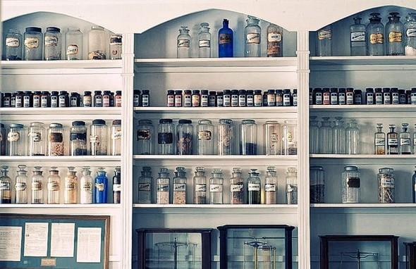 Аптека - музей в Новом Орлеане. Изображение № 10.