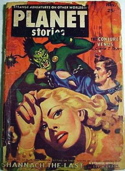 Космические обложки Pulp-журналов. Изображение № 17.
