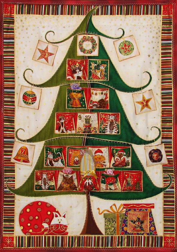 Рождественский календарь. Изображение № 10.