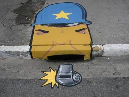 Уличные художники Сан-Пауло делают город веселее. Изображение № 27.