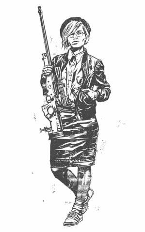 Девушки с оружием от Frank Barbara. Изображение № 9.