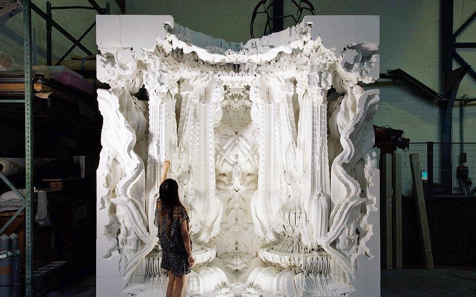 9 удивительных скульптур, которые были бы невозможны без технологий. Изображение № 5.