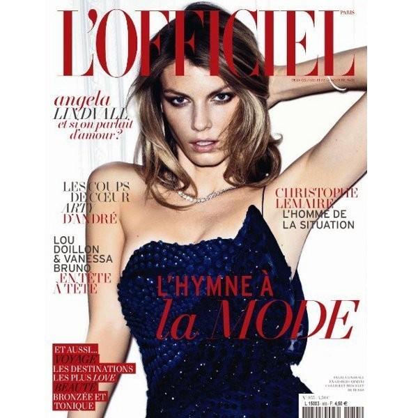 Изображение 9. Обложки: Elle, L'Officiel, W и другие.. Изображение № 6.