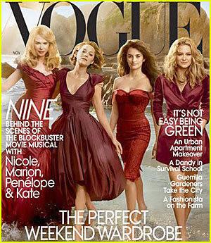 """Актрисы из к/ф """"Девять""""/Vogue US. Изображение № 69."""