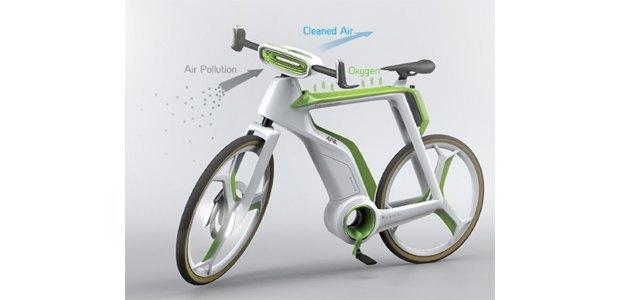 В Таиланде создают велосипед, очищающий воздух. Изображение № 3.