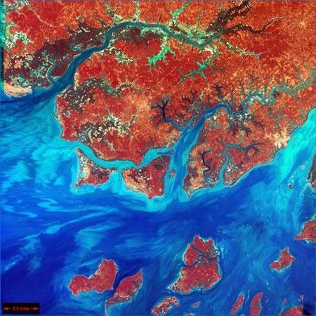 Фотографии Земли, снятые соспутников NASA. Изображение № 2.