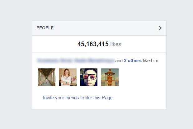 Facebook изменил для страниц механику подсчёта лайков. Изображение № 1.