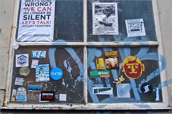 Стрит-арт и граффити Амстердама, Нидерланды. Изображение № 21.