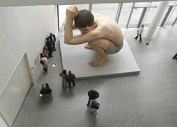 Скульптор-гиперреалист РонМуек (Ron Mueck). Изображение №9.
