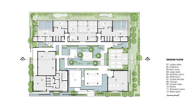 Архитектура дня: белый спа-центр во Вьетнаме с растениями на фасаде. Изображение № 24.