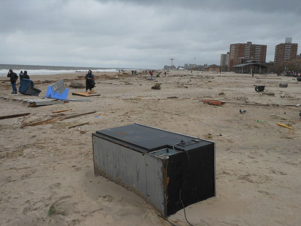 Эгоистические заметки о том, как я повстречался с супер-ураганом Сэнди. Изображение № 7.