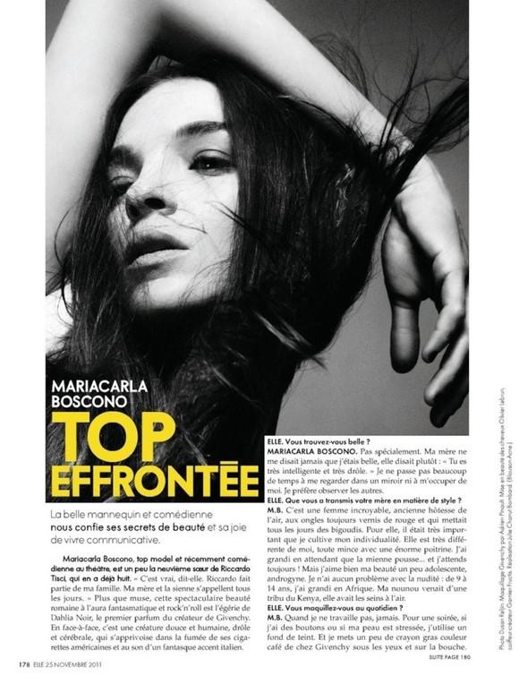 Съёмка: Мариакарла Босконо для Elle. Изображение № 5.