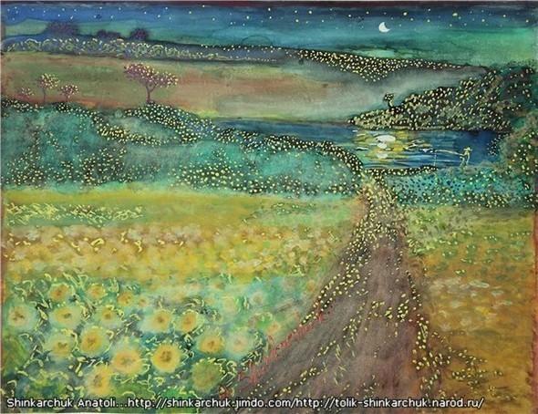 Shinkarchuk Anatoly watercolor and Japan Шинкарчук Анатолий акварель и Япония. Изображение № 3.