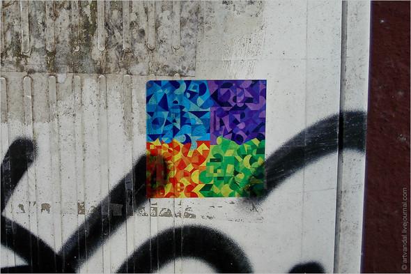 Стрит-арт и граффити Барселоны, Испания. Изображение № 32.