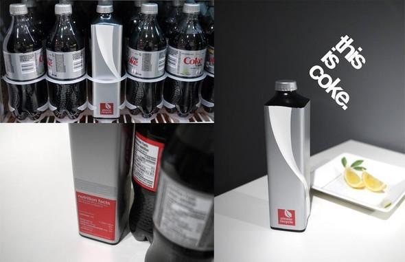 Новая классика. Бутылка Coca-Cola. Изображение № 5.