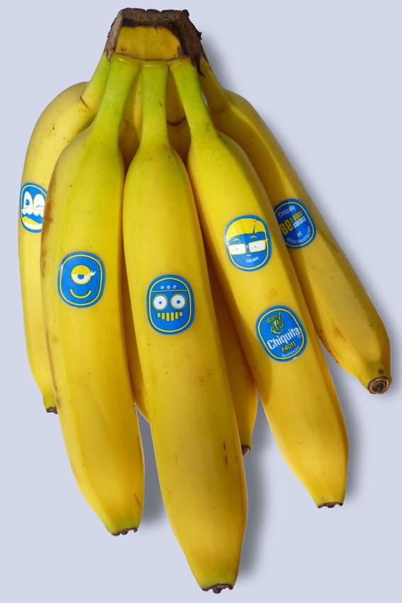 Chiquita: каждому банану - свое лицо. Изображение № 3.