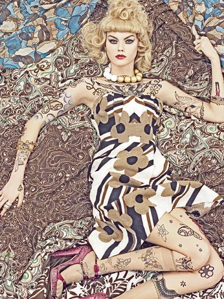 Vogue-patterns-by-steven-meisel. Изображение № 9.
