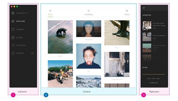 Дизайнер создал концепт приложения VSCO Cam для OS X. Изображение № 12.
