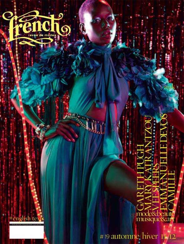Обложки: Аджак Денг, Сабрина Нет, Шарлотта Фри и другие модели для French Revue De Modes. Изображение № 9.