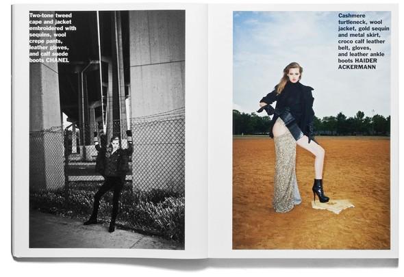 Съёмка: Терри Ричардсон и Линдси Уикссон для Purple Fashion. Изображение № 15.