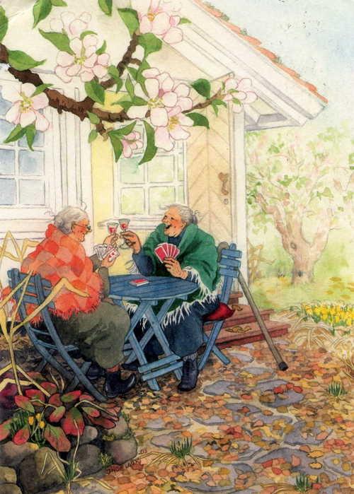 Inge Lооk - и развесёлые бабульки. Изображение № 7.