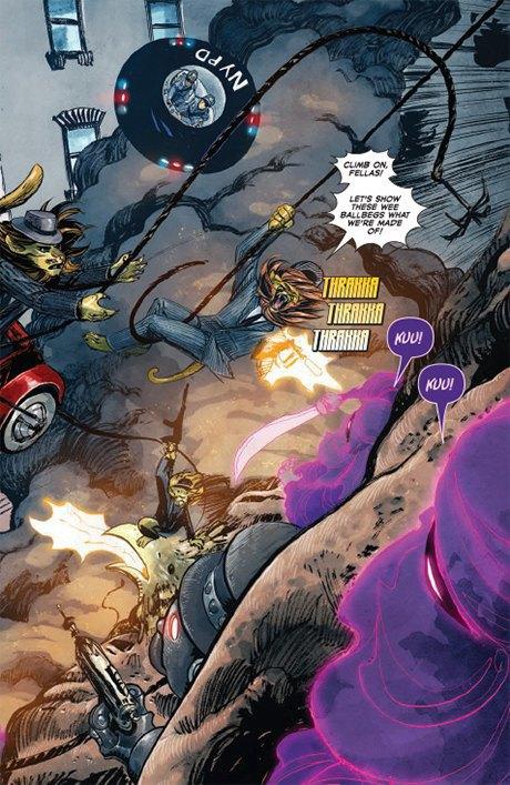 «Никаких зомби и супергероев»: Интервью с создателями комикса Shutter. Изображение № 15.