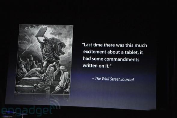 Презентация нового продукта iPad от Apple. Изображение № 31.