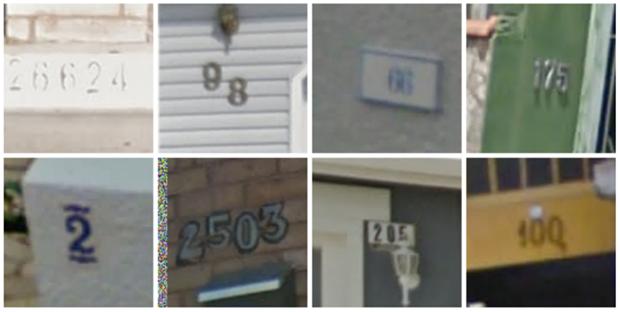 Номера домов, верно опознанные Google Street View. Изображение № 1.