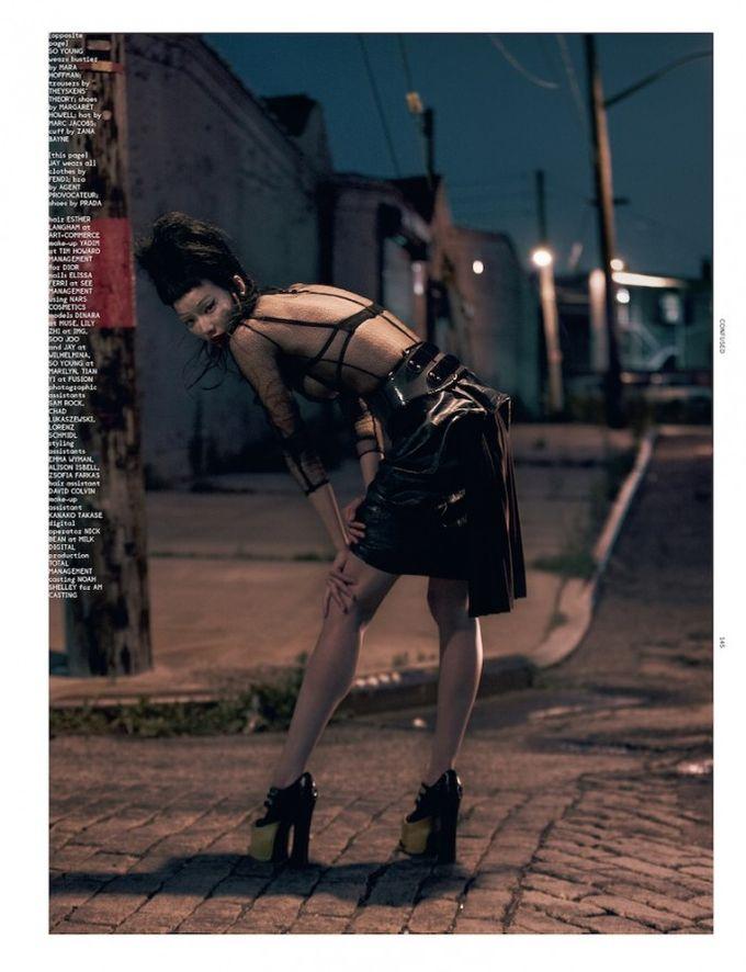 Dazed & Confused, Fat, Vogue и другие журналы выпустили новые съемки. Изображение № 74.