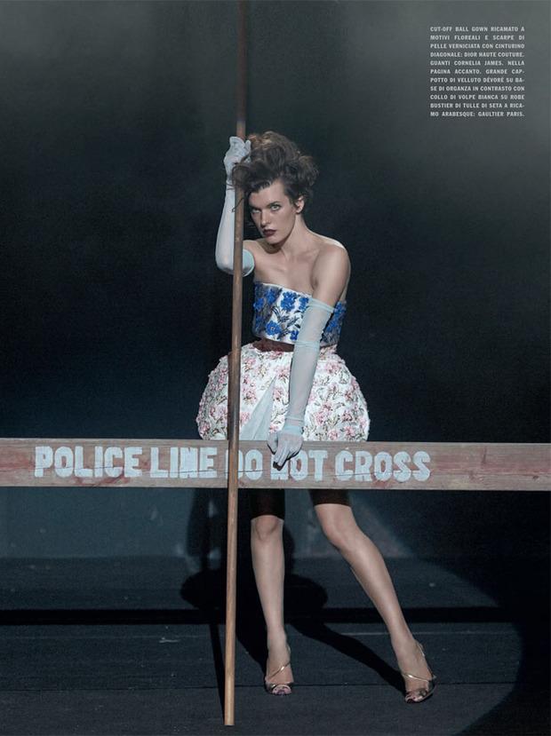 Вышли новые съемки Vogue, i-D, 10 и Interview. Изображение № 62.