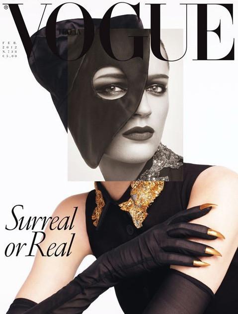 Обложки Vogue: Италия, Греция и другие. Изображение № 1.