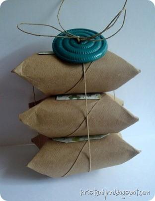 55 идей для упаковки новогодних подарков. Изображение №9.