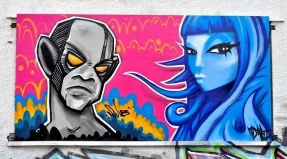 Изображение 11. Бристоль. Художественное граффити.. Изображение № 13.