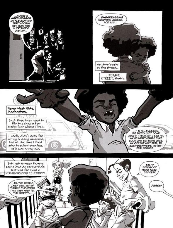 Комиксы легенды хип-хопа. Изображение № 9.