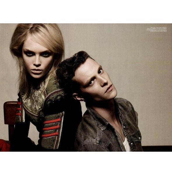5 новых мужских съемок: Dansk, Dazed & Confused, Vogue и другие. Изображение № 9.
