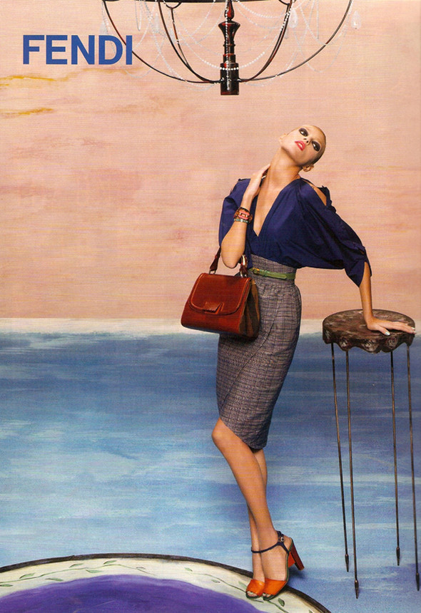 Изображение 4. Превью кампаний: Dior, Fendi, Miu Miu и другие.. Изображение № 6.